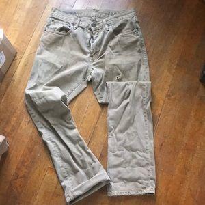 Gap Straight jeans. 29x30